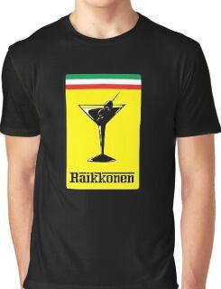 Raikkonen Martini Graphic T-Shirt