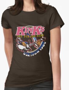 KINKS 2 Womens Fitted T-Shirt