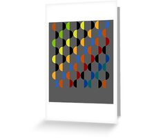 Abstract composition 401 Greeting Card