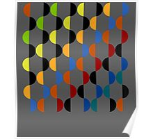 Abstract composition 401 Poster