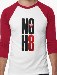 NOH8! Men's Baseball ¾ T-Shirt