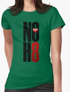 NOH8! Womens Fitted T-Shirt