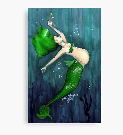 Emerald (May) Canvas Print