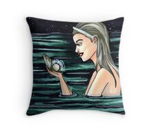 Pearl (June) Throw Pillow