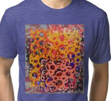 Abstract composition 360 Tri-blend T-Shirt
