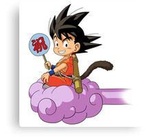 Kid Goku RC Canvas Print