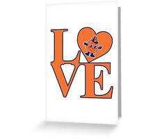 Love Syracuse Greeting Card