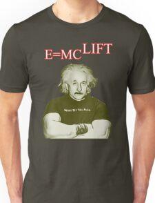 E Equals MC Lift - Body Building T-Shirt
