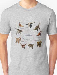 Ornithischia: The Cladogram Unisex T-Shirt