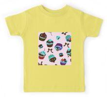 Psychedelic Cupcakes Kids Tee