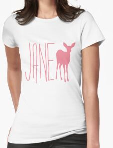 Life is strange Jane Doe pink Womens Fitted T-Shirt