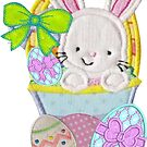 Easter wish applique by Ann12art
