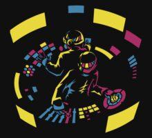 Daft Punk CMYK One Piece - Short Sleeve