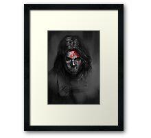 Winter Soldier,Bucky Framed Print