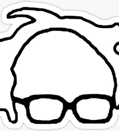 Bernie Sanders 2016 Feel The Bern Sticker Sticker