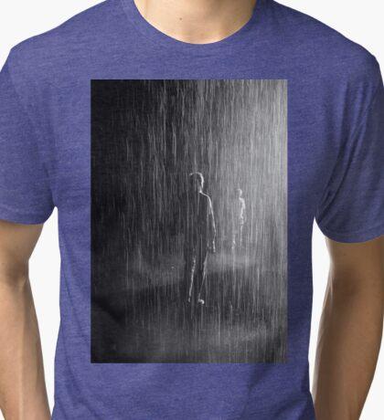 meeting in the rain Tri-blend T-Shirt