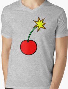 Cherry Bomb Mens V-Neck T-Shirt