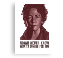 Carol - Walking Dead Canvas Print