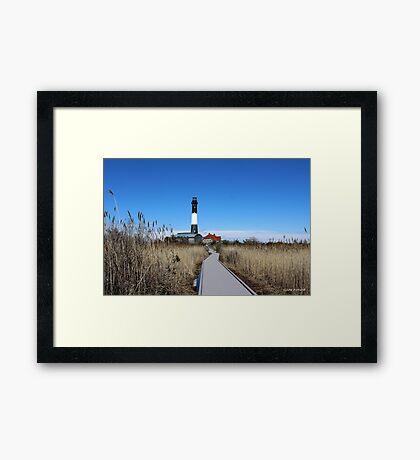 Fire Island Lighthouse Framed Print