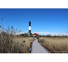 Fire Island Lighthouse Photographic Print