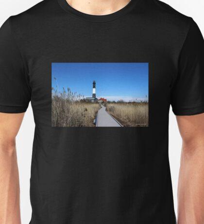 Fire Island Lighthouse Unisex T-Shirt