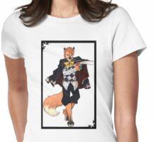 Anthro 'Joker'(Book of Circus)- Onyx Art Studios Womens Fitted T-Shirt