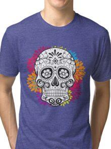 Sugar Skull Tri-blend T-Shirt