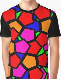 Hexagons Gone Wild Graphic T-Shirt