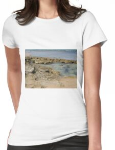 Rocky Shore Womens Fitted T-Shirt