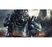 Fallout BoS art Photographic Print