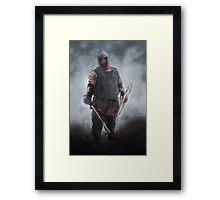 Dwarf Fighter Framed Print