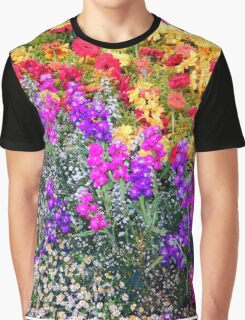 Floral Rainbow Graphic T-Shirt