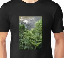 Ferns and rapids, Warburton, Victoria Unisex T-Shirt