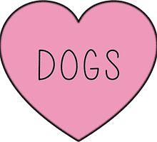 DOGS by kateroseaustin