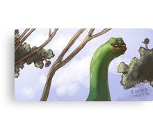 Rare Pepe Meme Canvas Print