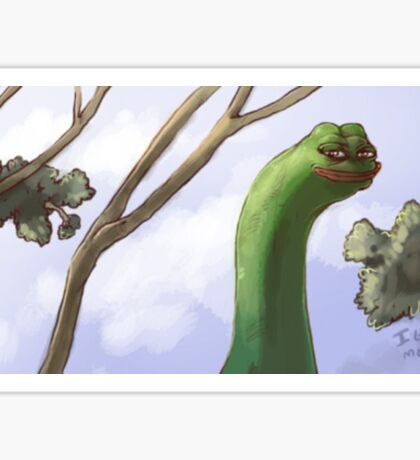 Rare Pepe Meme Sticker