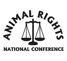 ANIMAL RIGHTS Photographic Print