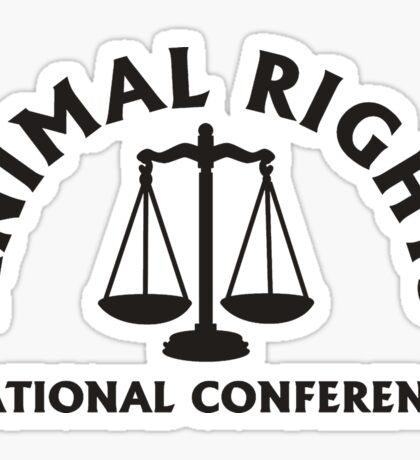 ANIMAL RIGHTS Sticker