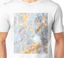 Grey & Gold Marble Unisex T-Shirt