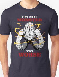 Vegeta Worse than Monster T-Shirt