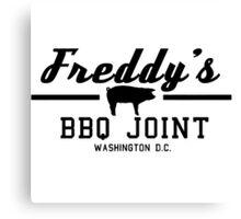 Freddy's BBQ Canvas Print