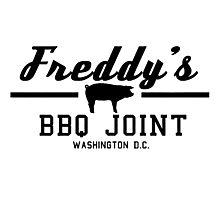 Freddy's BBQ Photographic Print