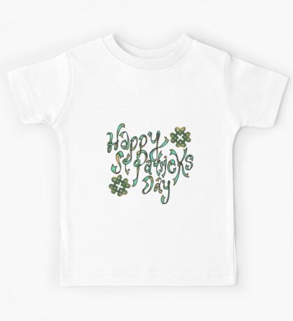 Happy St. Patricks Day Kids Tee