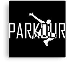 Parkour Logo Canvas Print