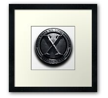 X - man School for gifted youngster Framed Print