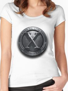 X - man School for gifted youngster Women's Fitted Scoop T-Shirt