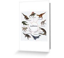 Pseudosuchia: The Cladogram Greeting Card