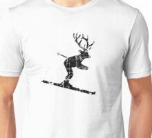Ski Stag (Vintage) Deer Unisex T-Shirt