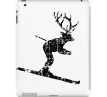 Ski Stag (Vintage) Deer iPad Case/Skin