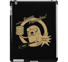makin bacon pancakes iPad Case/Skin